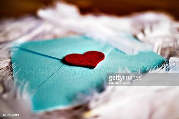 Sweet heart letter