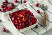 Sweet Homemade Cranberry Sauce for Thanksgiving Dinner
