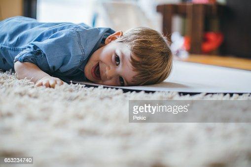 Sweet little boy : Stock Photo