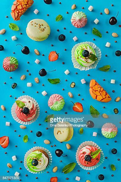 Sweet pattern: cupcake