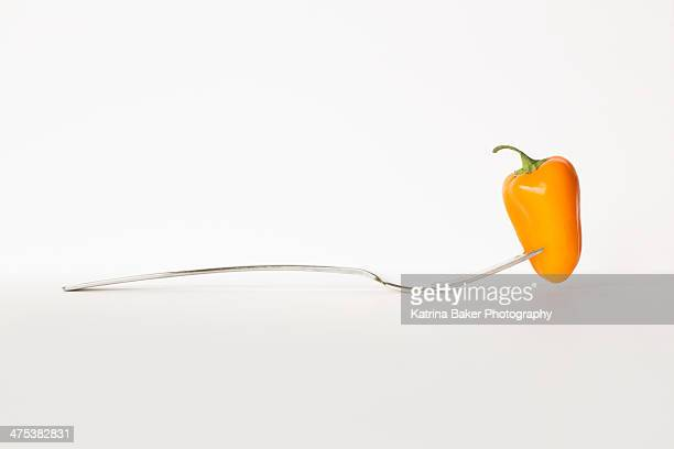Sweet Pepper on a Form