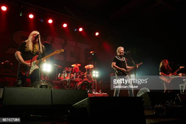 Sweet perform at Columbiahalle on March 24 2017 in Berlin Germany
