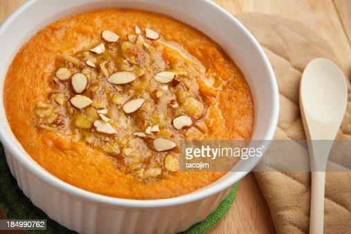 サツマイモのキャセロール料理