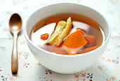 Sweet potato dessert soup