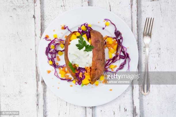 Sweet Potato Kumpir