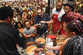 Sweet potato pie baking contest takes place at Ernest N Morial Convention Center on July 2 2016 in New Orleans Louisiana