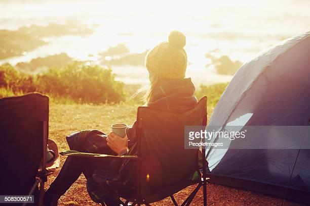 Sweet solitude as the sun rises