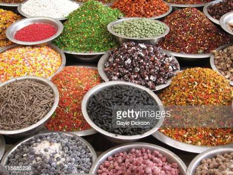Sweet stall in Ahmedabad bazar