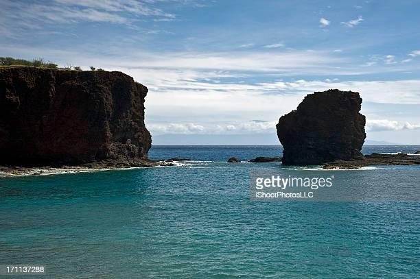 Sweetheart Rock in Lanai Hawaii