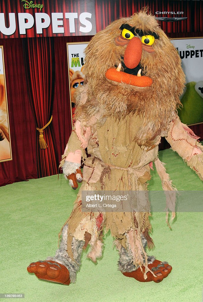 Sweetums arrives for 'The Muppets' Los Angeles Premiere held at the El Capitan Theatre on November 12, 2011 in Hollywood, California.