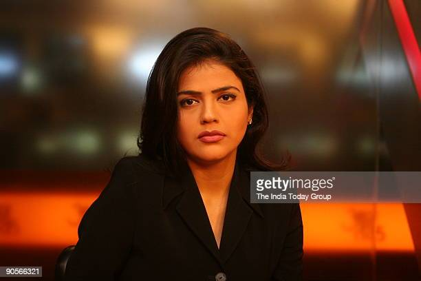 Sweta Singh Anchor Aaj Tak New Delhi