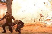 BLINDSPOT 'Swift Hardhearted Stone' Episode 120 Pictured Sullivan Stapleton as Kurt Weller Ashley Johnson as Patterson