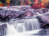 White Mountains, New Hampshire swift river