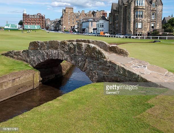 Swilcan Bridge, St. Andrews, Scotland