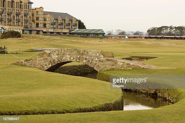 Swilken Bridge, St Andrews, Scotland.  The home of golf.