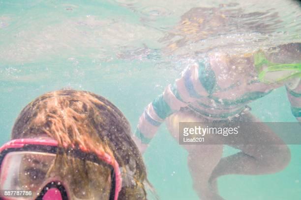 Sœurs de nager