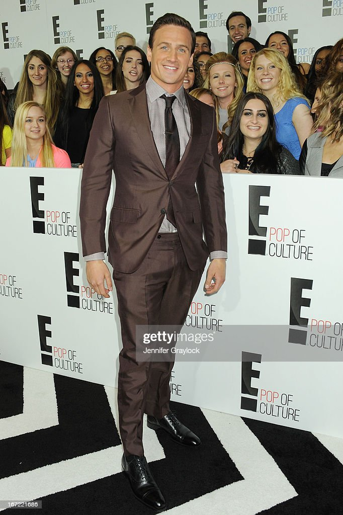 Swimmer and Olympic Medalist Ryan Lochte attends the E! 2013 Upfront at The Grand Ballroom at Manhattan Center on April 22, 2013 in New York City.