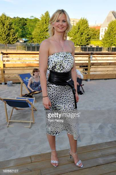 Swimmer Britta Steffen attends the 'in' 5th Birthday Party at the Ressort on June 30 2010 in Berlin Germany