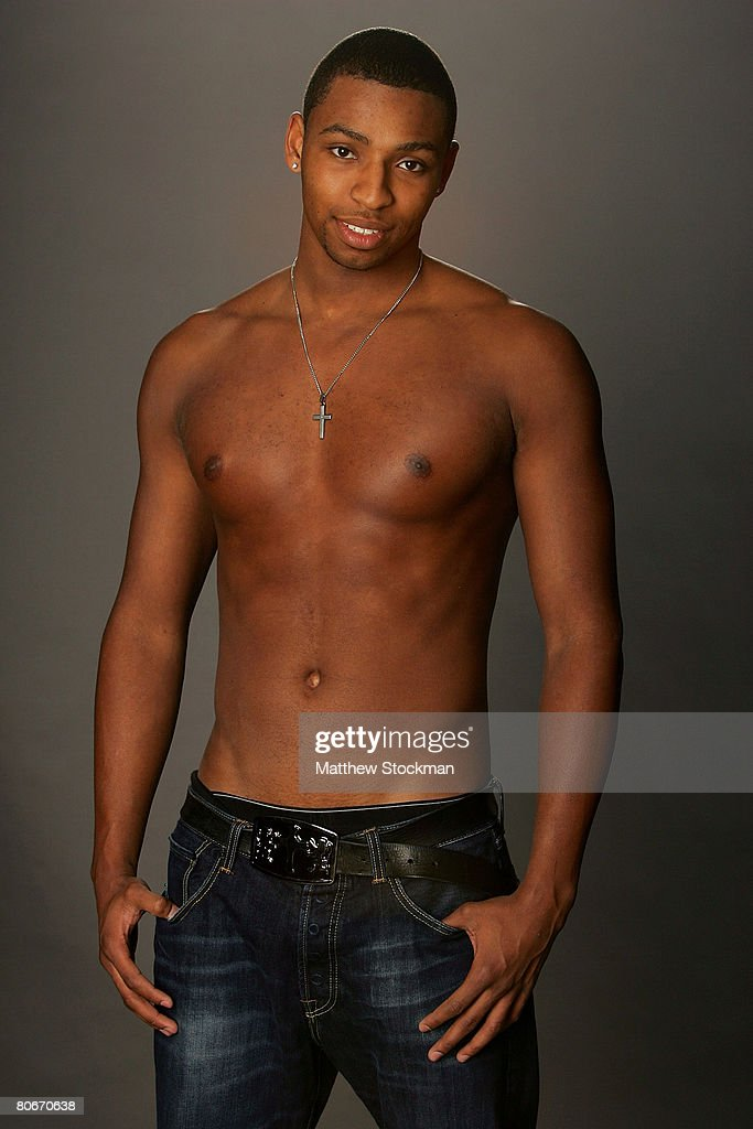 Swimmer <a gi-track='captionPersonalityLinkClicked' href=/galleries/search?phrase=Cullen+Jones&family=editorial&specificpeople=1047215 ng-click='$event.stopPropagation()'>Cullen Jones</a> poses for a portrait during the 2008 U.S. Olympic Team Media Summitt at the Palmer House Hilton on April 14, 2008 in Chicago, Illinois.