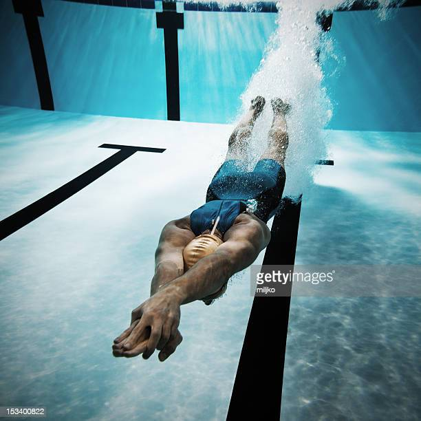 Diving Into Water Stock Photos And Pictures Getty Images
