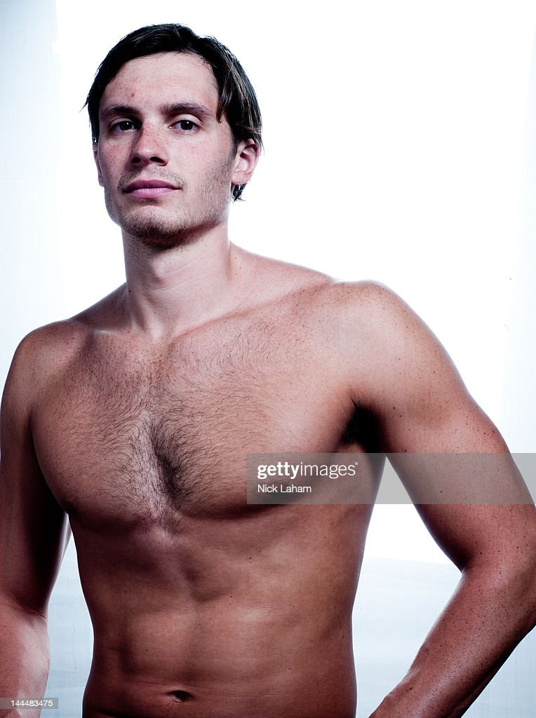 Swimmer, Eric Shanteau, poses for a portrait during the 2012 Team USA Media Summit on May 14, 2012 in Dallas, Texas.