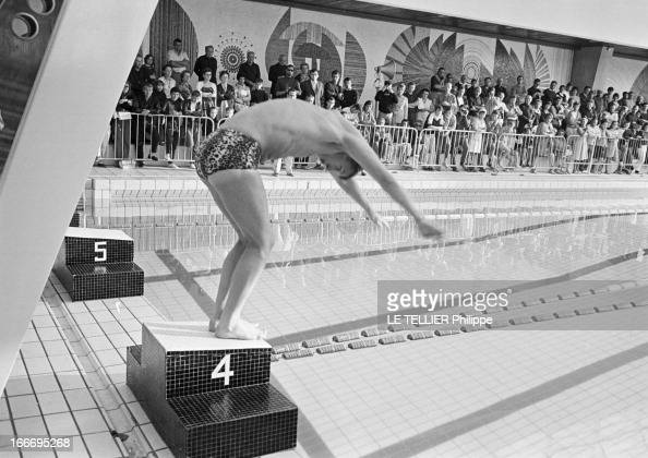 Nageur stock photos and pictures getty images for Piscine gilbert bozon