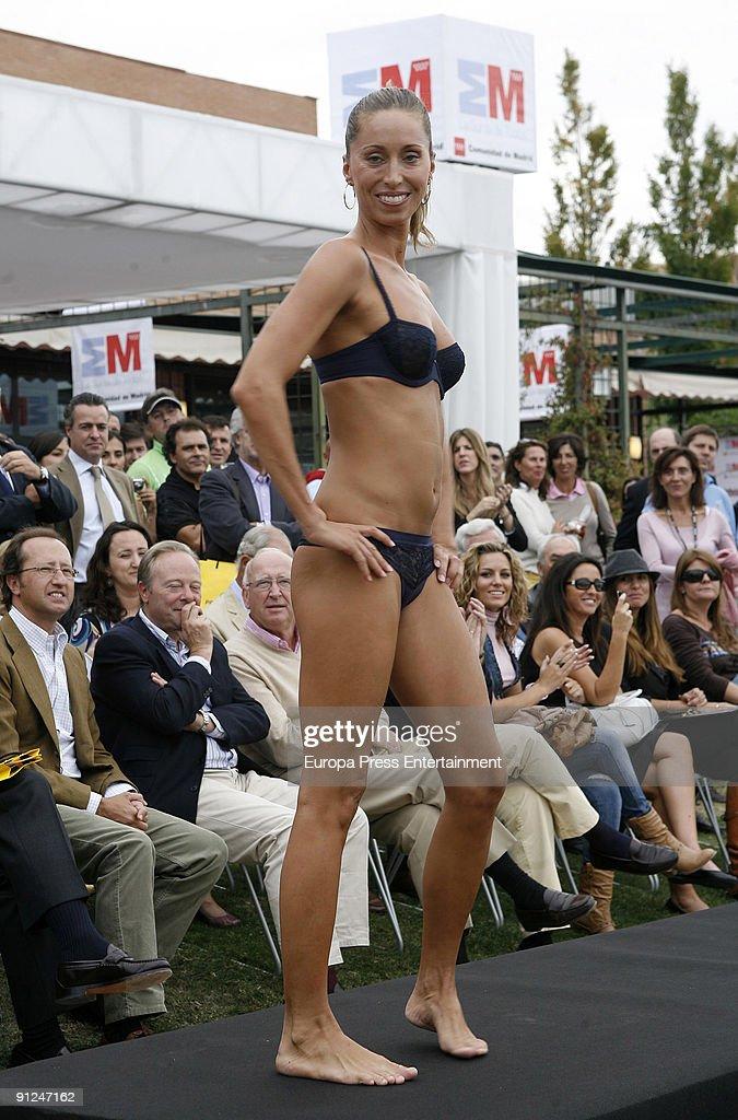 Swimmer Gemma Mengual Models For Charity Catwalk Against Cancer