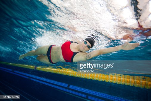 swimmer in bikini