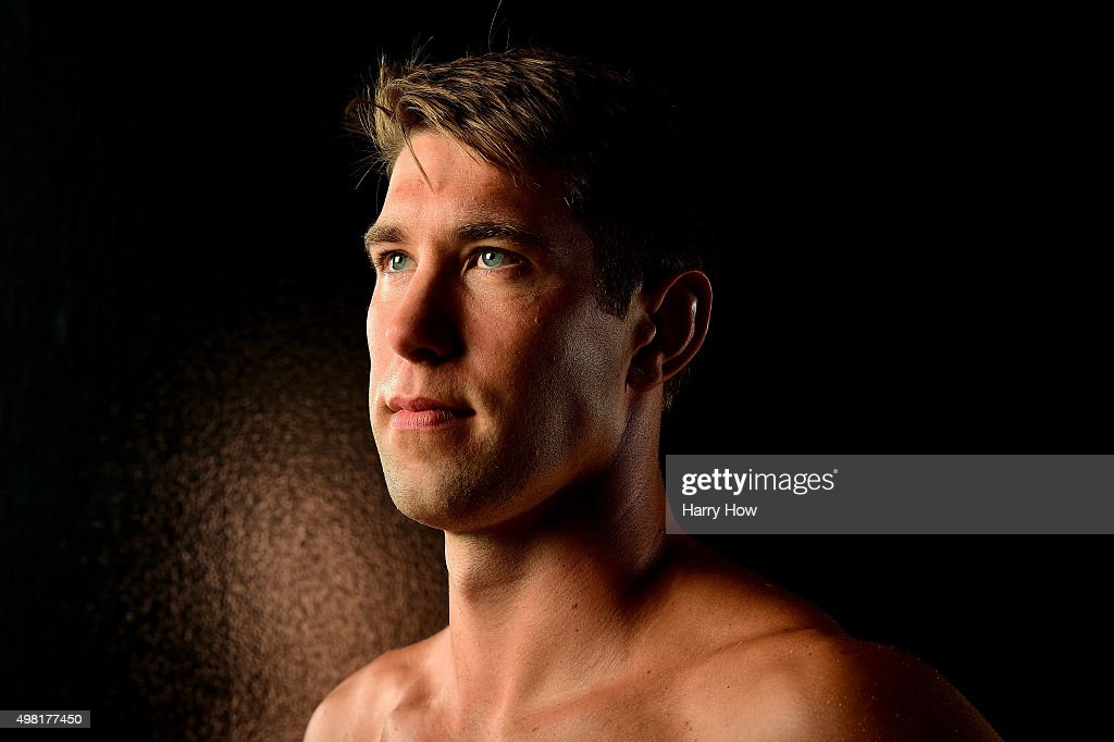 Swimmer <a gi-track='captionPersonalityLinkClicked' href=/galleries/search?phrase=Matt+Grevers&family=editorial&specificpeople=2499373 ng-click='$event.stopPropagation()'>Matt Grevers</a> poses for a portrait at the USOC Rio Olympics Shoot at Quixote Studios on November 21, 2015 in Los Angeles, California.