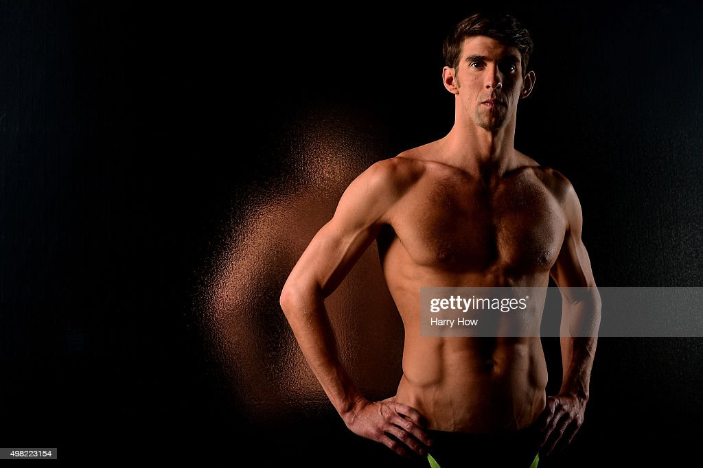 Swimmer <a gi-track='captionPersonalityLinkClicked' href=/galleries/search?phrase=Michael+Phelps&family=editorial&specificpeople=162698 ng-click='$event.stopPropagation()'>Michael Phelps</a> poses for a portrait at the USOC Rio Olympics Shoot at Quixote Studios on November 21, 2015 in Los Angeles, California.