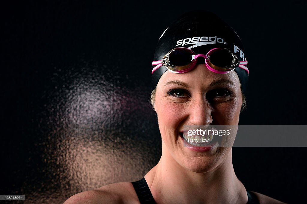 Swimmer <a gi-track='captionPersonalityLinkClicked' href=/galleries/search?phrase=Missy+Franklin&family=editorial&specificpeople=6623958 ng-click='$event.stopPropagation()'>Missy Franklin</a> poses for a portrait at the USOC Rio Olympics Shoot at Quixote Studios on November 21, 2015 in Los Angeles, California.