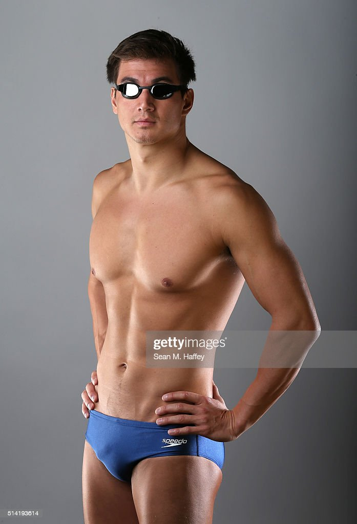 Swimmer Nathan Adrian poses for a portrait at the 2016 Team USA Media Summit at The Beverly Hilton Hotel on March 7, 2016 in Beverly Hills, California.