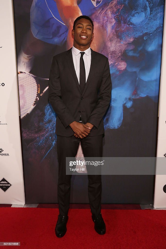 Swimmer Reece Whitley attends the 2015 Sports Illustrated Sportsperson Of The Year Ceremony at Pier Sixty at Chelsea Piers on December 15, 2015 in New York City.