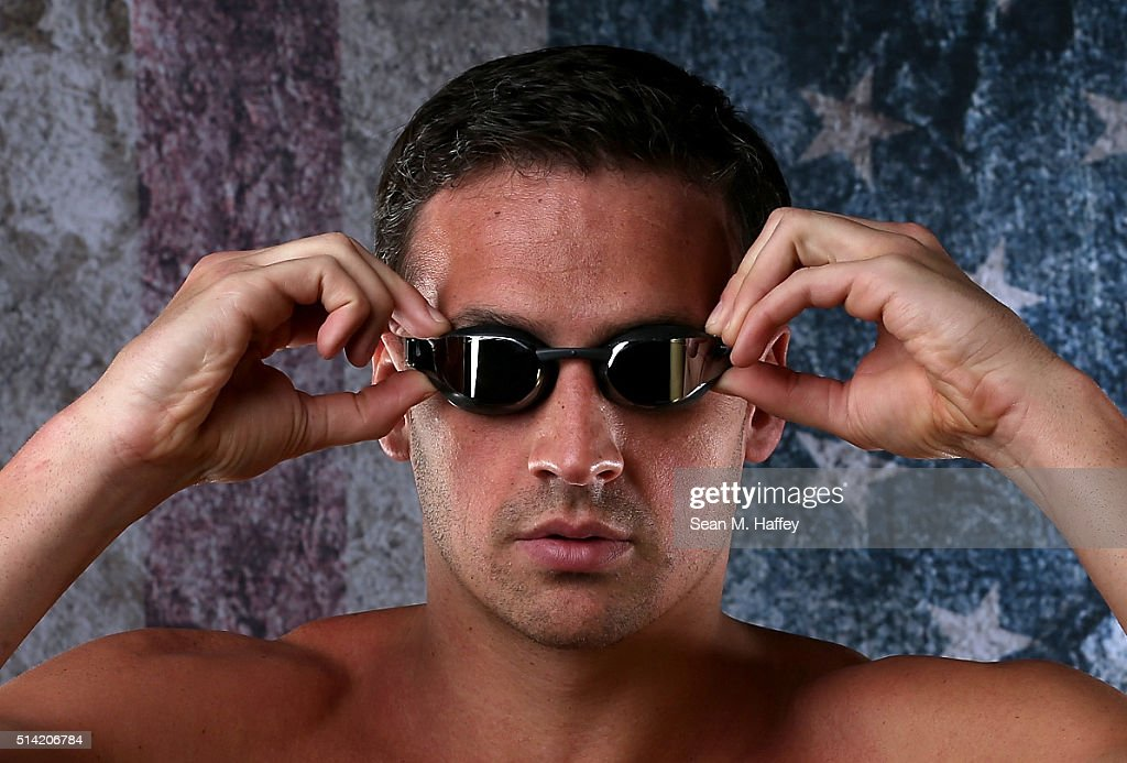 Swimmer Ryan Lochte poses for a portrait at the 2016 Team USA Media Summit at The Beverly Hilton Hotel on March 7, 2016 in Beverly Hills, California.