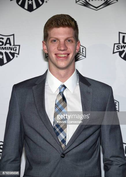 Swimmer Townley Haas attends the 2017 USA Swimming Golden Goggle Awards at JW Marriott at LA Live on November 19 in Los Angeles California