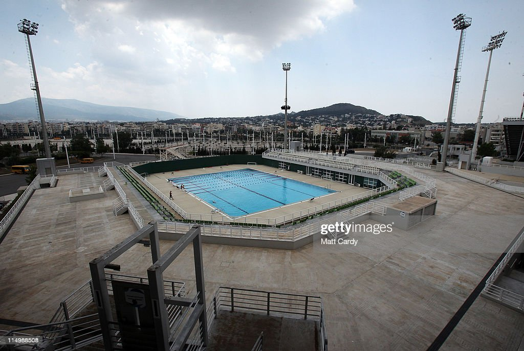 The Athens Olympic Complex Seven Years After The 2004 Event Was Held In Greece Getty Images