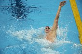 16th FINA World Championships USA Ryan Murphy in action during Men's 200M Backstroke Semifinal at Kazan Arena Kazan Russia 8/6/2015 CREDIT Thomas...