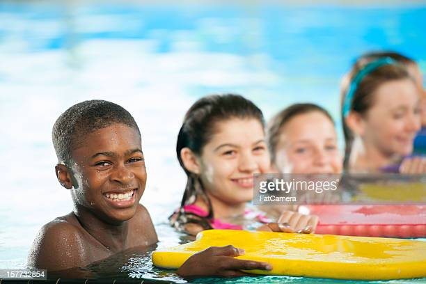 Lecciones de natación