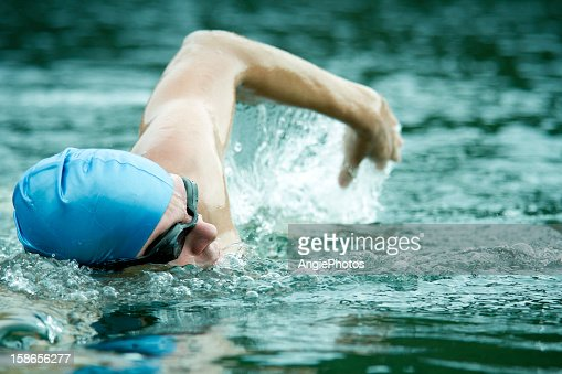 Swimming : Stock Photo