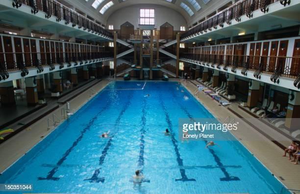 Swimming pool at Amalienbad, Favoriten.