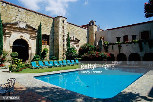 Swimming Pool At Camino Real Hotel Oaxaca Mexico Stock Photo Getty Images