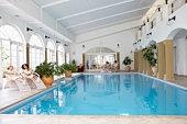 Swimming Pool At Spa