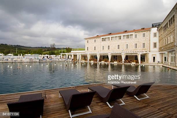 Swimming Pool at the Hotel Terme di Saturnia