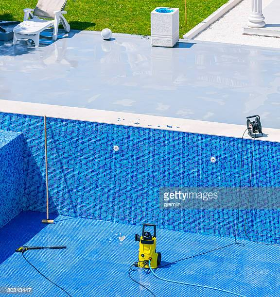 Swimming pool cleaning and repairs