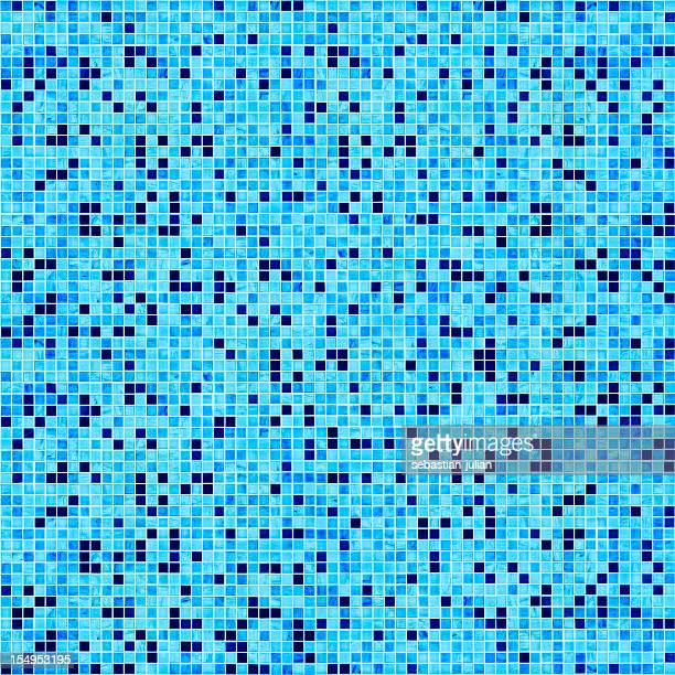 swimming pool floor bisazza mosaic large group of tiles