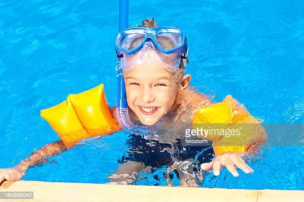 Swimmingpool-Spaß