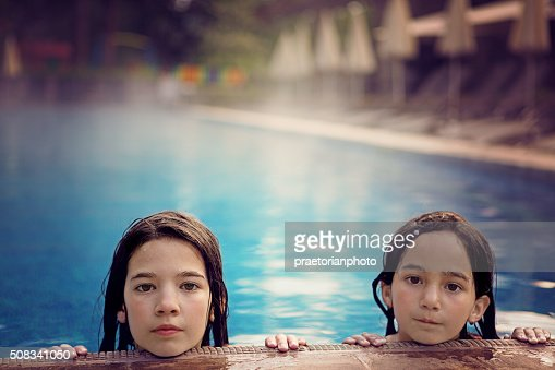 Two Girl Swimming Stock Photos And Pictures Getty Images