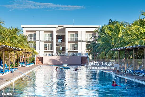 Swimming pool in the Hotel Playa Cayo Santa Maria The resort is a Gaviota Group own brand hotel and it is very popular with international tourism