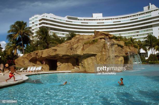 Swimming Pool of Fontainebleau Hotel