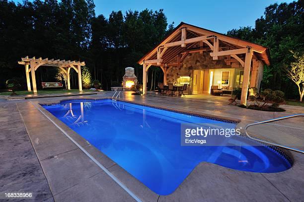 Swimming Pool of Luxury Home